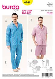 Burda - 6741 Pyjama