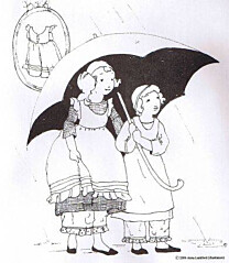 Sense and Sensibility - Girls Pinafore Pantaloons
