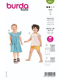 Burda - 9281 jurk en top