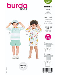 Burda - 9284 jurk en shirt