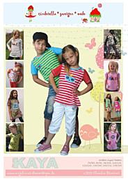 Cinderella Zwergenmode Kaya unisex t-shirt voor kids