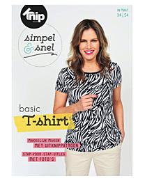 Knipmode Simpel & Snel basic t-shirt