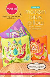 Modkid Modern Lotus pillow