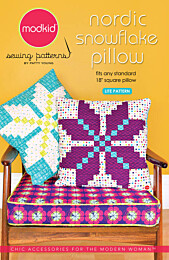 Modkid Nordic snowflake pillow