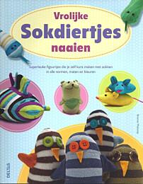 Vrolijke sokdiertjes naaien ISBN 9789044733372