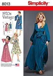 Simplicity - 8013 Vintage jurk