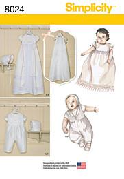 Simplicity - 8024 babykleertjes