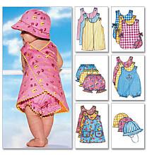 Butterick 5625 babykleertjes
