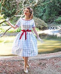 Sense and Sensibility 1958 Ladies' Party Dress