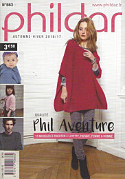Phildar qualité Phil Aventure (nr. 663)