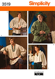 Simplicity - 3519 Shirt kostuum