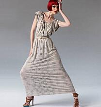 Vogue 1352 Rebecca Taylor maxi-jurk