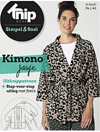 Knipmode Simpel & Snel Kimono