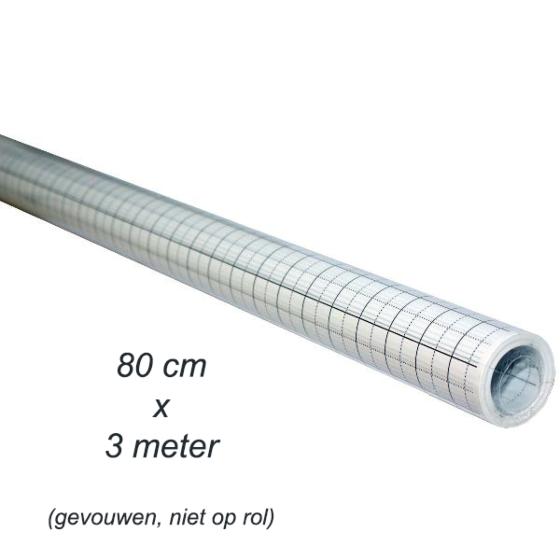 Patroonpapier ruit 80 cm x 3 mtr