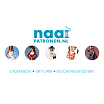 Naaipatronen.nl Cadeaubon € 25,00