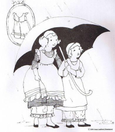 Sense and Sensibility - Girls Pinafore Pantaloons