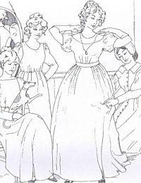 Sense and Sensibility - Romantic Era Dress