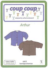 Coup Coup patroon 6 Arthur overhemd