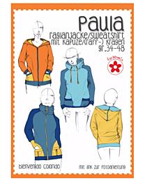 Farbenmix - Puala raglanjacke/sweatshirt
