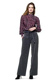 Knipmode 0219 - 22 blouse
