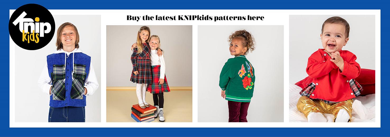 New KNIPkids patterns
