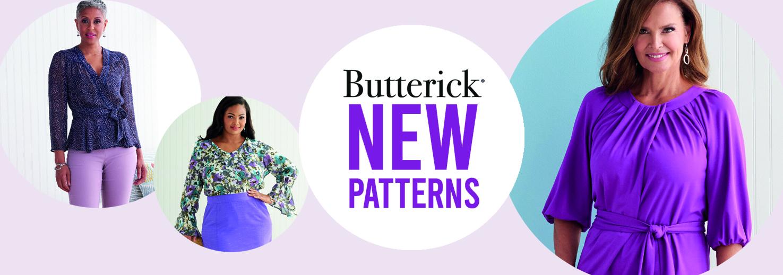 New Butterick Patterns