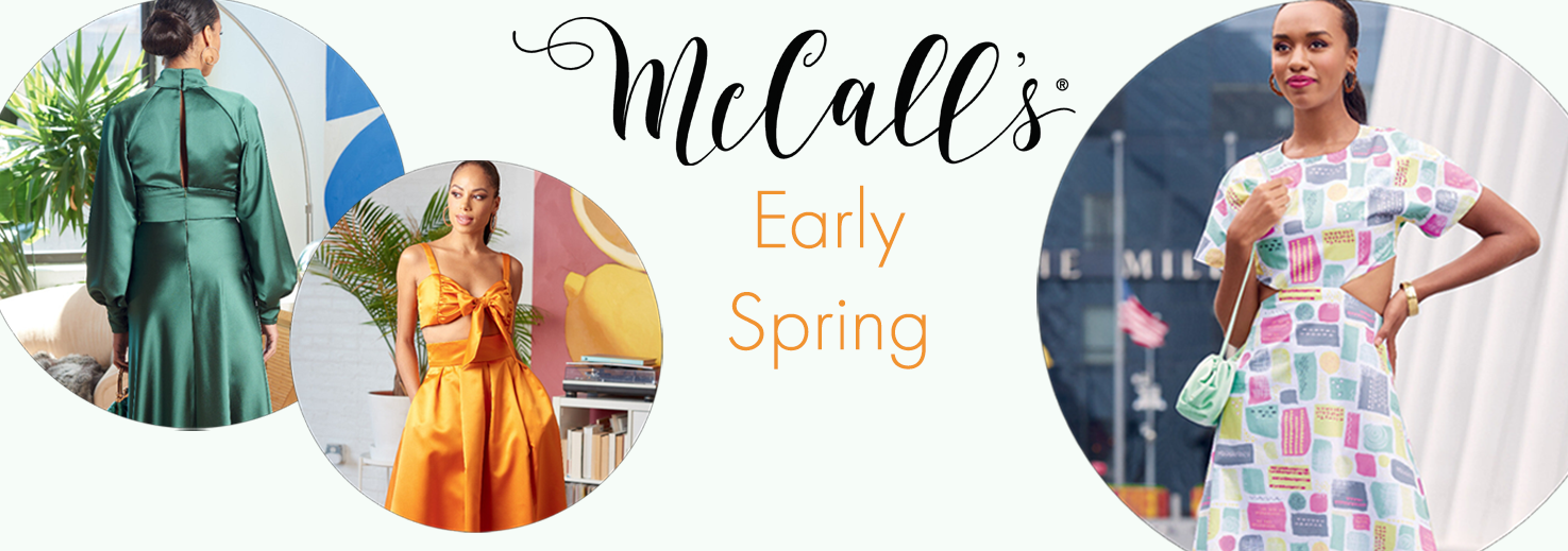 McCall's Early Spring 2021 new patterns