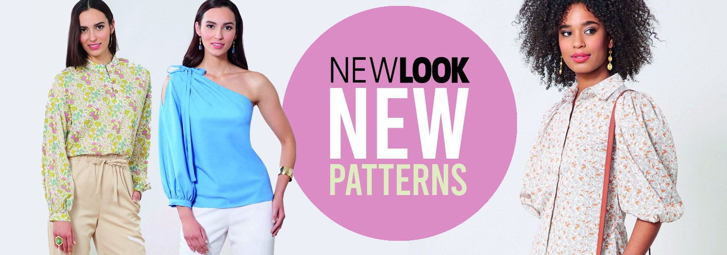 New Look new sewing patterns